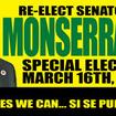 Monserrate Gets Help from <strike>Hostage</strike> Girlfriend on Election Day