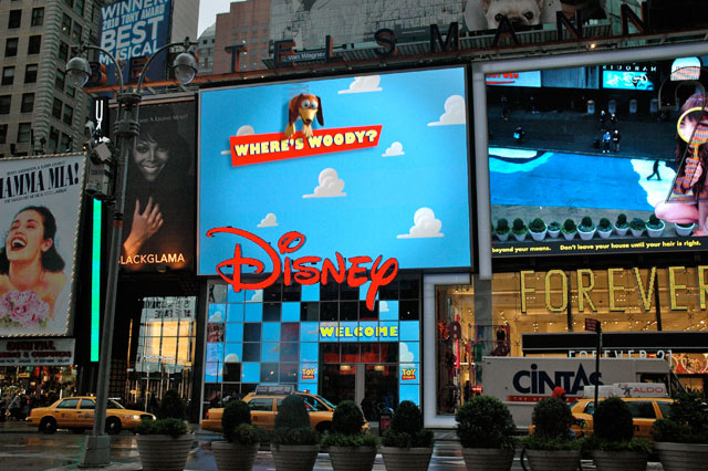 Times Square Disney Store Wants to Slip You a Mickey