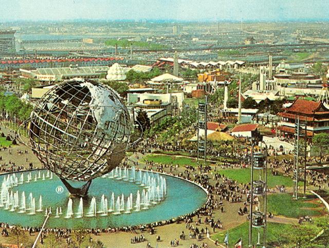 Another 1964 World's Fair Structure Bites The Dust (In A Fire!)