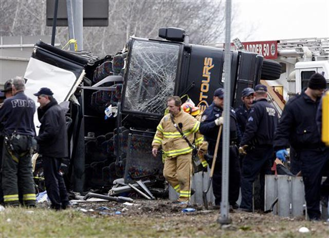 Horrific Bronx Bus Crash Claims 14th Life, Investigation Continues