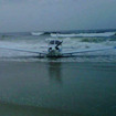 Small Plane Makes Emergency Landing On Queens Beach