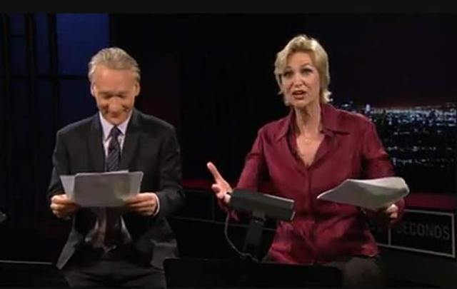Naughty Weiner Sext Overload: Bill Maher & Jane Lynch's Dramatic Reading, Plus New Chats