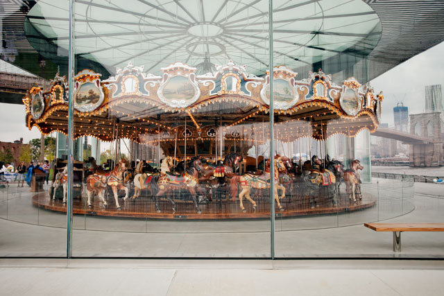 adult carousel com. Photos, Video: Jane's Carousel OPEN In Brooklyn Bridge ...