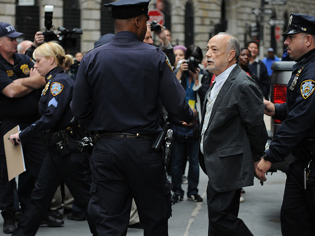 4 Arrested At Occupy Wall Street Chase Protest, Goldman Sachs Employees Told To Avoid Zuccotti Park