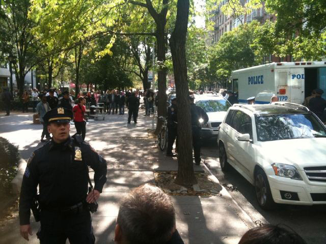 Citibank Blames Yesterday's Occupy Wall Street Arrests On Police