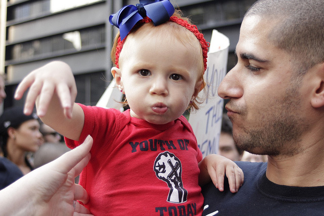 Occupy Wall Street Wants You To Bring Your Kids To Zuccotti Park For A Sleepover Tomorrow