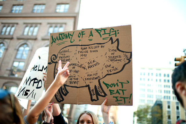 Photos: Protesters Chant