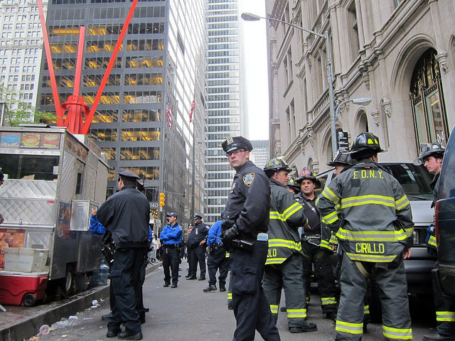 Occupy Wall Street Gets Their Generators Back, But FDNY Still Say They Aren't Permitted