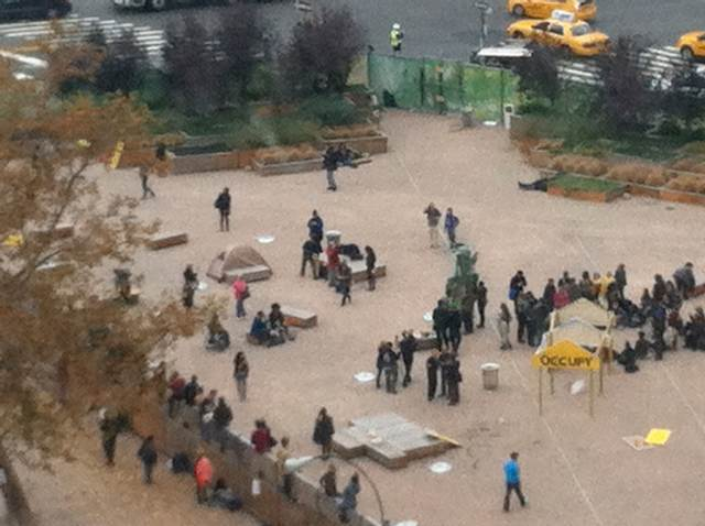 [UPDATE] Occupy Wall Street Takes New Park, Near Holland Tunnel, Owned By Trinity Church