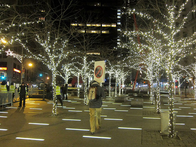 Occupy Wall Street To Celebrate Christmas At Zuccotti Park
