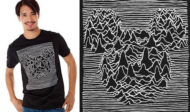 Atrocity Exhibition: Disney Discontinues Joy Division-Mickey Mouse T-Shirt