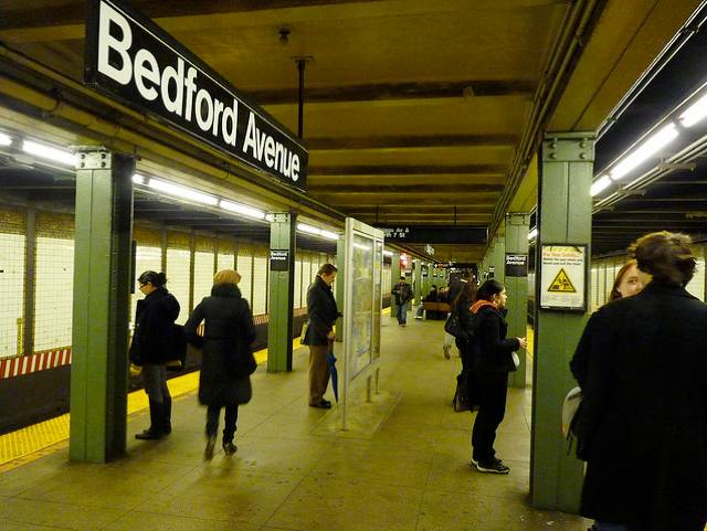 L Train Service Suspended After Woman Struck By Train At Bedford Ave