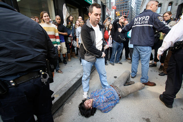 Twitter User Who Suggested Killing Cops Over OWS Says He Was Just Joking