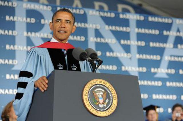 Video: President Obama At Barnard,