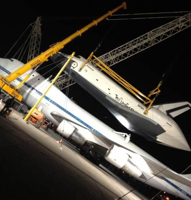 Photos: Space Shuttle Enterprise