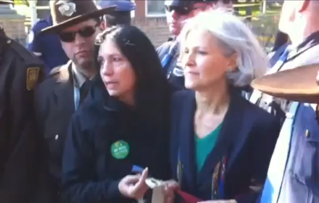 Video: Green Party Candidates Arrested Outside Of Presidential Debate