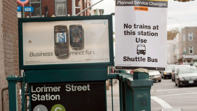 Petition Begs MTA To Bring Out G And L Shuttle Buses
