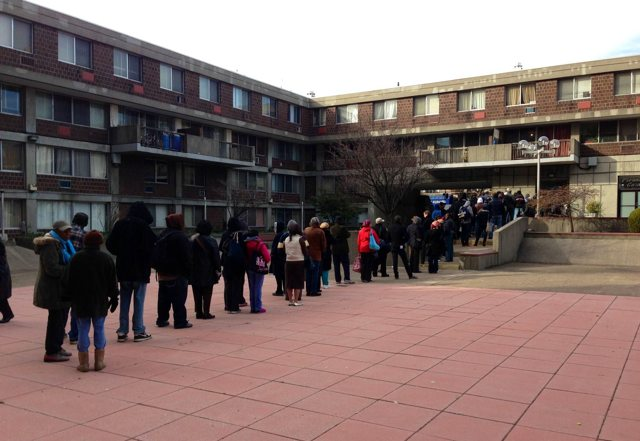 Photos: New Yorkers Waiting Up To Two Hours To Vote!