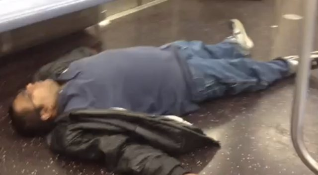 Creepy Video: L Train Filled With Sleeping People