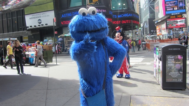 Teen Furious After Charges Dropped Against Gropey Cookie Monster