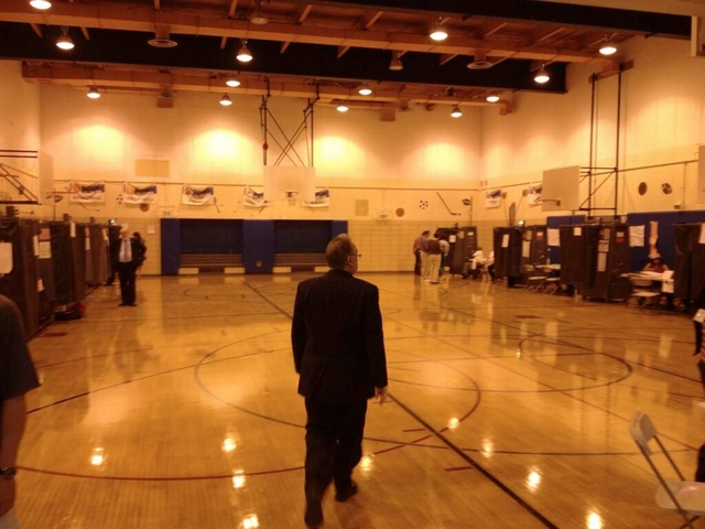 10 Photos Of Desolate NYC Polling Places This Morning