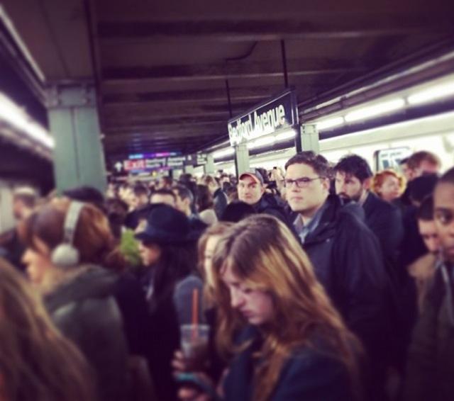 L Train Evening Commute Looks Pretty Bad Too