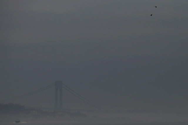 Laguardia Flights Delayed 5 Hours, Thanks To THE FOG