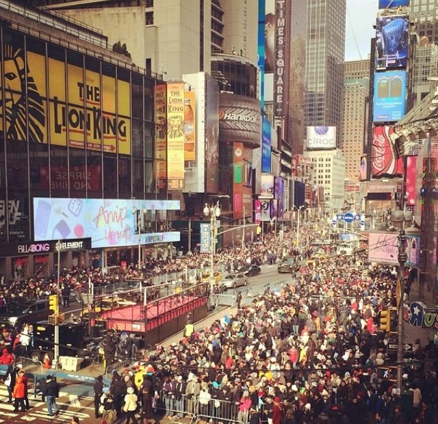 Video: Watch The Times Square New Year's Eve Livestream!
