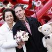 Photos: Snuggle Bear Stares Creepily At Couple Renewing Vows