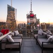 Inside Bar 54, NYC's Highest Rooftop Lounge