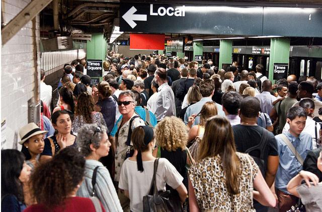 NYC Subway Ridership Was 1.708 Billion Last Year, Highest Since 1949