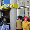 Fast Food Workers Arrest Ronald McDonald At Wage Theft Protest