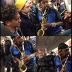 Watch Straphangers React To A Squealing Saxophone