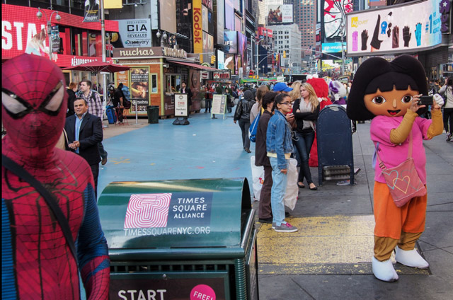 Another Times Square Spider-Man Arrested For Groping Woman