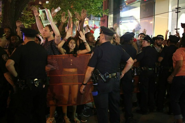 Five Arrested In Midtown During Ferguson Police Brutality Protest
