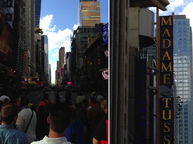 [Update] Times Square Partially Shut Down Because Of Man On Ledge