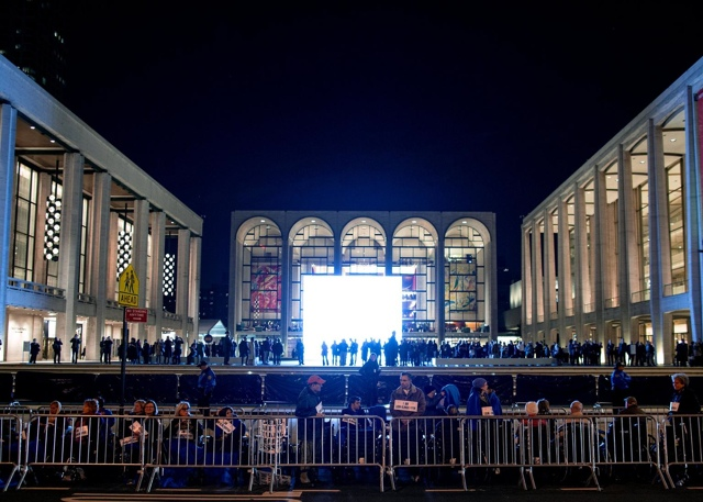 Protesters Accuse Met Opera Of Spreading