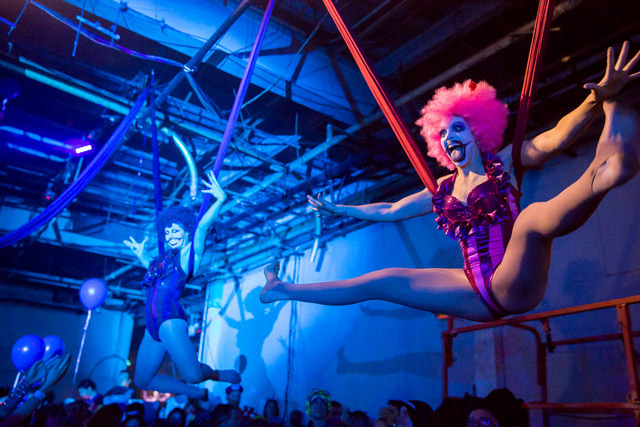 Photos: BangOn! Bushwick Halloween Rave Gets Soggy & Chaotic