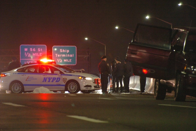 After Crashing, Motorcyclist Killed By Minivan Driver On West Side Highway