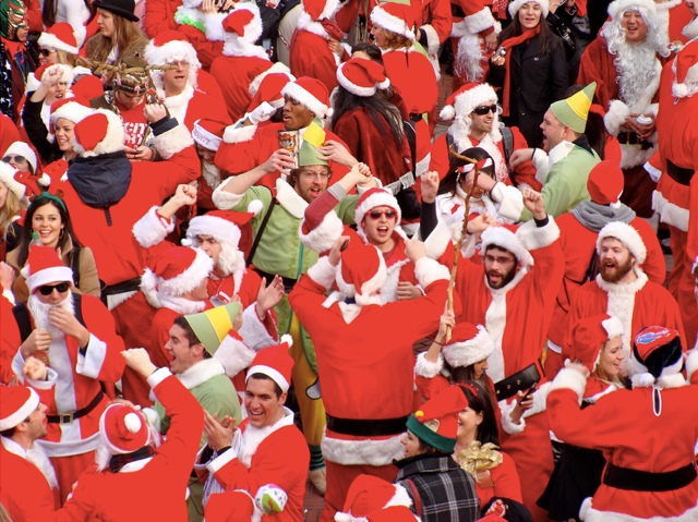 Ho Ho No: SantaCon Is Not Coming To Bushwick
