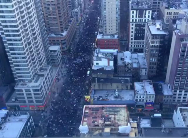 Video: Aerial Timelapse Of The Massive Millions March NYC