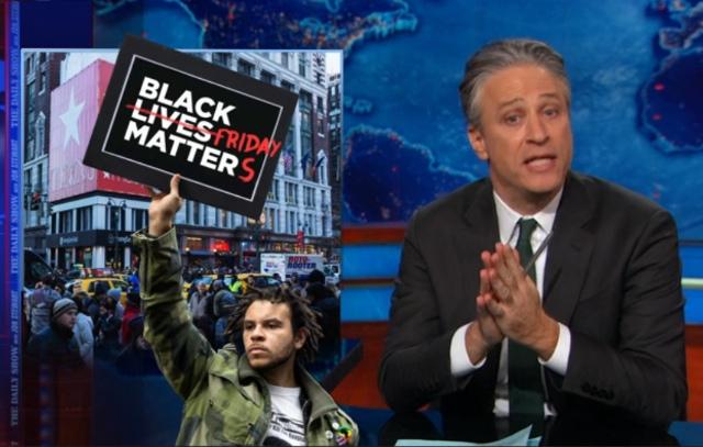 Video: Jon Stewart Rages Against Anti-Protest Arguments