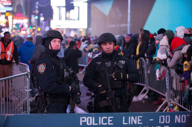 NYPD Gave Zero Tickets Out In Times Square On New Year's Eve