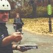 Bike Cop Tickets Bicyclist For Biking On Bike Path