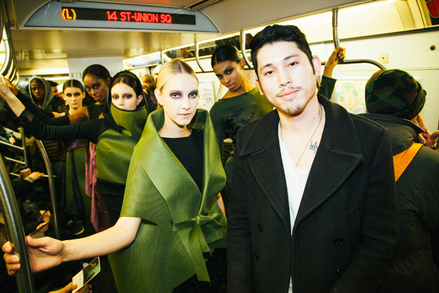 Video: Subway Fashion Show Hits The L Train