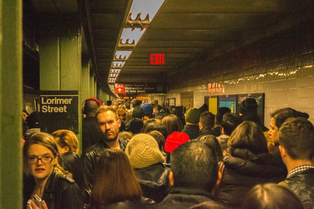 Deja Vu Again: No L Trains To Manhattan Due To Bedford Ave. Rail Condition