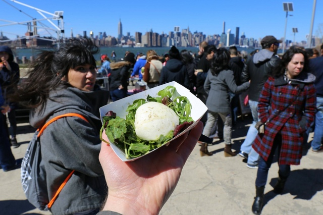 Photos: Smorgasburg Returns To Windy Williamsburg Waterfront With Lines, Must-Order Dishes