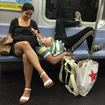 Happy L Train Couple Sickens Subway Car With Seat-Hogging Love-In