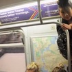 Video: There's Always Room On The Subway If You Try Hard Enough