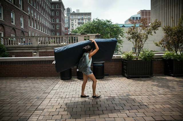 Student Accused Of Raping 'Mattress Girl' Settles Lawsuit With Columbia University